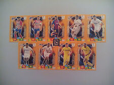 SET COMPLETO 9 CARDS VAR BOYS ADRENALYN XL LIGA SANTANDER 2018 2019