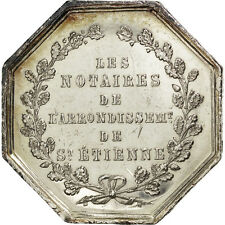 [#73049] France, Notary, Token, Au(55-58), Silver, Lerouge #366, 17.87