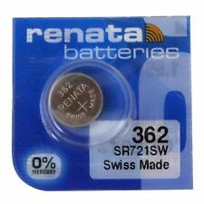 Renata 362 (SR721SW) Swiss Made Watch Battery - Brand New