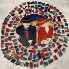Cafe' Americana Hand Cut Tiles 1 Cp 7 1/2� & 100+ Complimentary Pieces