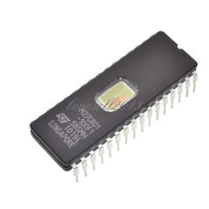 M27C801-100F1 27C801 ST IC EPROM UV 8MBIT 100NS 32CDIP