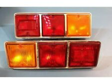 Fiat 132 1 Series Taillights Tail Lights NOS