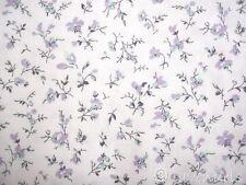 0,5 m Stoff Ökotex ♥ Baumwolle Blümchen lila grün Westfalenstoff Blumen Provence