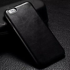 Fashion Rubber Soft Leather Phone Skin Case Cover For iPhone 5 5S SE 6 6S 6 Plus