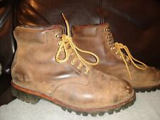 Chippewa LL Bean Brown Leather Boot Men's 10