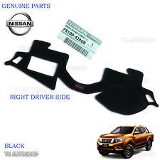 Black Carpet Dash Mat Dashmat Cover Fits Nissan Navara Np300 Right 2015 Genuine