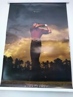 "TIGER WOODS *DRIVEN* Original Nike Poster New 24"" x 35"""