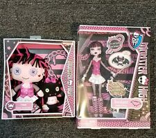 Monster High Draculaura Doll with Count Fabulous and Plush Set