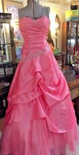 Ball Gown Cinderella Divine Size4 Dress Beaded Pink Formal Party Pickups