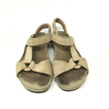 Teva Women's Open Toe Sandals Shock Pad Casual Color Tan Size: 8.5 US