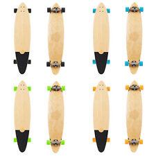 "Two Bare Feet Porto 42"" Pintail Canadian Maple Longboard Skateboard Complete"