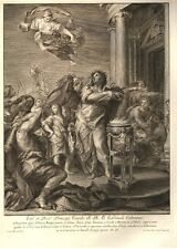 Print made by: Jacob Frey : Carlo Maratti - Dated 1738