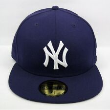 New Era Men's MLB NY Yankees Ligue Basique Violet 5950 Fitted Cap-taille 7 1/2