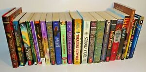 LOT OF 22 TEEN KIDS BOOKS HARRY POTTER GREGOR LORD OF THE FLIES SERAFINA NARNIA