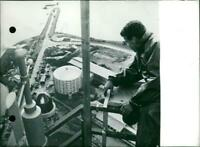 1st Nuclear power station. - Vintage photograph 3432643