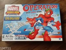 OPERATION BOARD GAME BRAND NEW FACTORY SEALED RARE MARVEL SPIDERMAN EDITION