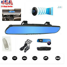 "2.8"" Full HD 720P Auto Car DVR Mirrors Camera Video Recorder Dash Cam"