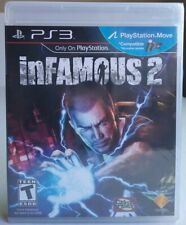 PS3 Official SONY inFAMOUS 2 Game/playStation 3. PS Move Compatible game.