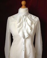 BRAND NEW WHITE LEAD REIN BLOUSE SIZE 12