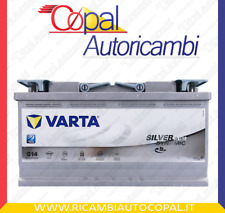 Batteria auto VARTA AGM G14 95AH 850 L5 595901085 Start-Stop Battery 12v Silver