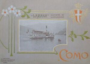 Guida Turistica - Associazione interessi di Como - Como dintorni e Lago - 1910