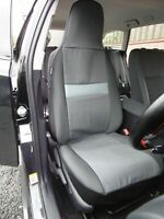 TO FIT A SEAT TARRACO , CAR SEAT COVERS,MOON DUST GREY - 2 FRONTS