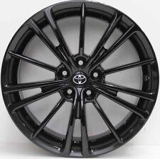 17 inch GENUINE TOYOTA 86 GT 2014 MODEL ALLOYS WILL ALSO FIT SUBARU BRZ IN BLACK