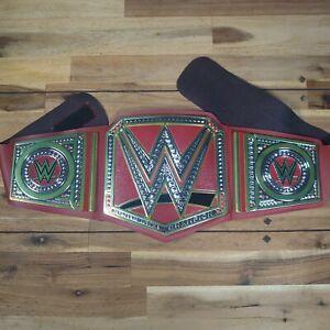 WWE Universal Champion Wrestling Belt Red 2014 Mattel Championship Kids Dress Up