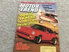 1988 Cutlass Supreme, Mustang GT, Firebird Formula, Camaro IROC Z Magazine