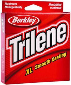 Berkley Trilene XL Smooth Casting Filler Spool 330 Yards 2 lb Clear XLFS2-15