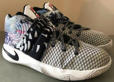 Nike size 6 Youth Boys Kyrie 2 GS The Effect Multi Color Black 826673-901 Shoes