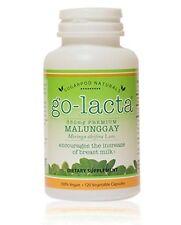 Go-Lacta Vegan Milk Production Supplement - Increases Mom's Breast Milk 120 Caps