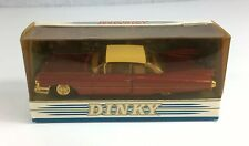 Matchbox Dinky DY-7 Red 1959 Cadillac Coupe De Ville Boxed