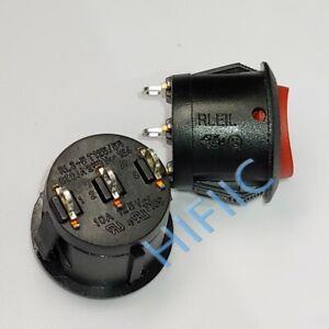 1PCS/5PCS  RLEIL RL3-513-G 6A 250V 3 positions 3 pins Rocker switch