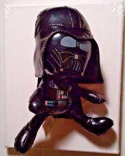 """Star Wars DARTH VADER Galerie Plush Stuffed Shiny 9"""" Tall Figure 2010"""