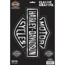 Harley-Davidson - Large Chrome Logo - Classic Graphix Decal