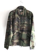 Ebbets Field flannels Raiders Camouflage Coupe-Vent Veste Taille L RRP £ 300