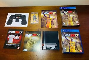 NBA 2K17 Legend Edition Gold Kobe Bryant - Sony PlayStation 4 -RARE Complete Set