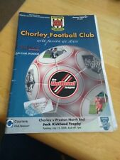 Chorley v Preston North End 15/7/08