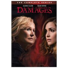 Damages: The Complete Series (DVD, 2013, 15-Disc Set) - NEW!!