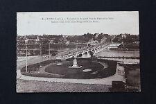 Carte postale ancienne CPA TOURS - Vue générale du Grand Pont de Pierre et Loire