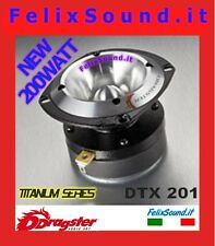 COPPIA DTX 201 TITANIUM  SUPER TWEETER  EXTREME DRAGSTER 200 WATT