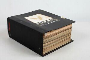 Massive Yardman Binder of Vintage Manuals Parts Lists Lawn Mowers Jackson MI