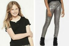 NWT JUSTICE GIRLS OUTFIT SET~ 14/16 COLD SHOULDER TEE / 14 METALLIC JEAN LEGGING