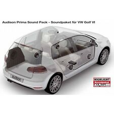 Audison APSP G6 Sound Pack for VW GOLF VI Amplifier+Speakers for Golf 6