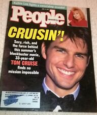 TOM CRUISE & NICOLE KIDMAN - Multi-Page Photo Feature in PEOPLE Mag, June 1996