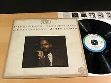 JOHN LEWIS Improvised Meditations & Excursions ATLANTIC Stereo Bullseye NM-