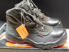 COMFORTWEAR STEEL CAP HIKER BOOT CLARET COLOUR LACE UP MENS 7 NEW IN BOX