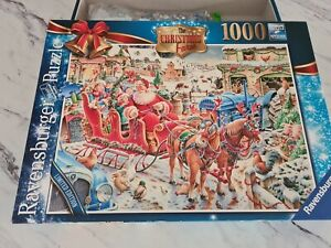 Ravensburger 1000 piece jigsaw puzzle Limited Edition The Christmas Farm Made...