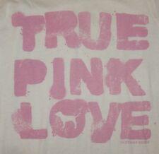 Victoria's Secret PINK ~ M ~ White ~ TRUE PINK LOVE ~ Long Sleeve Shirt